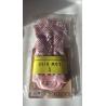 ponožky na jogu protišmykové ružovobiele