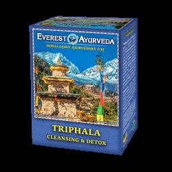 Ajurvedsky čaj Triphala na detoxikáciu tráviaceho traktu