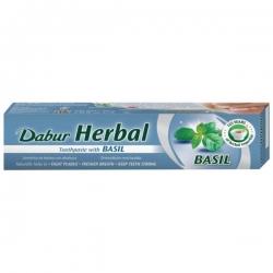 DABUR - Zubná pasta s bazalkou