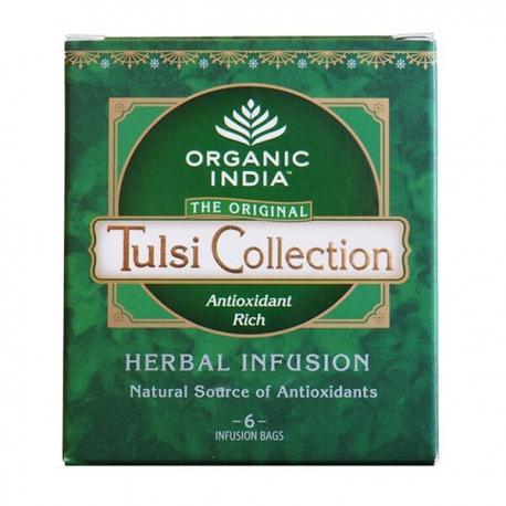 Tulsi kolekcia porciovaný čaj,6 vreciek