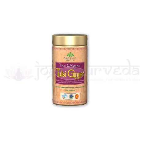 TULSI GINGER TEA darčeková plechovka