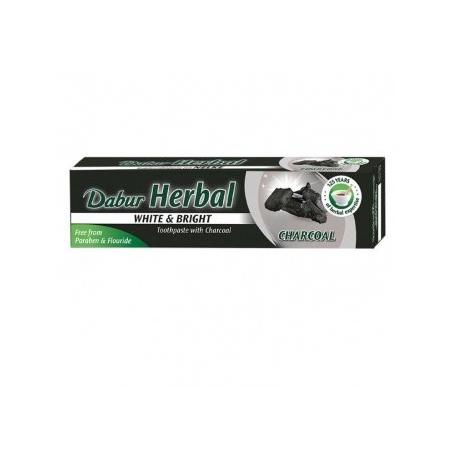 Bylinná zubná pasta s aktívnym uhlím