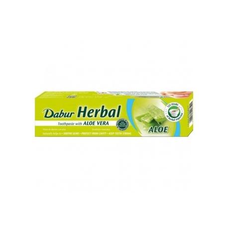Bylinná zubná pasta  Dabur s  Aloevera