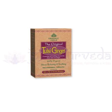 TULSI GINGER TEA sypaný čaj