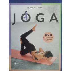 Joga (kniha) a DVD so 4 cvičebnými programami Amiena Zyllaova