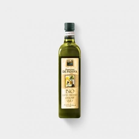 Olivový olej PADOVA BIO Organic India  750ml