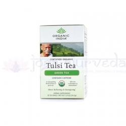 Ajurvédsky čaj TULSI SO ZELENÝM ČAJOM sáčky
