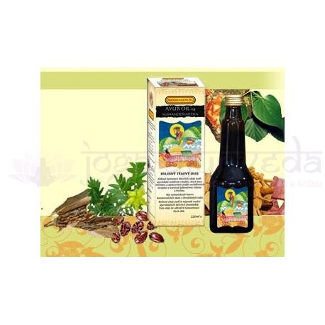 SIDDHALEPA - AYUR OIL 24 MAHASIDDHARTHA - masážny olej