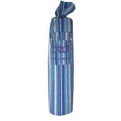 YOGA-MAD vak na joga podložku pásikavý - modrý