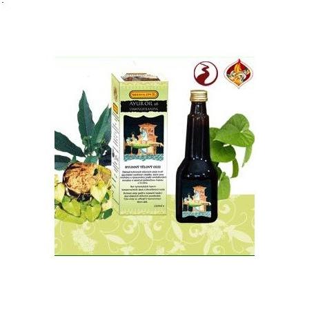 SIDDHALEPA - AYUR OIL 26 VISHNU ERANDA - masážny olej