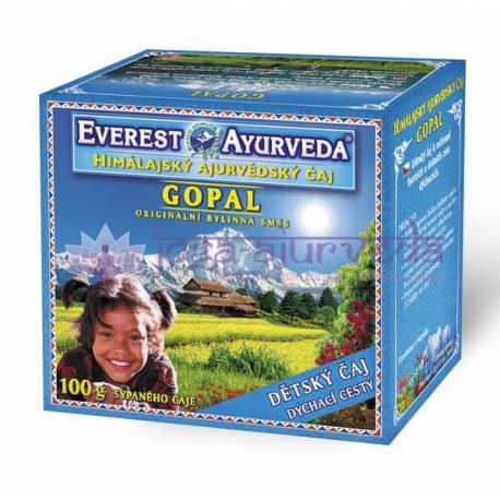 GOPAL – Detský čaj pri nachladnutí