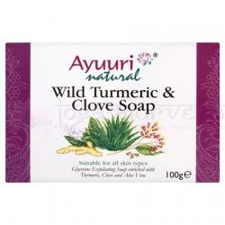 AYUURI - Mydlo s kurkumou a klinčekom