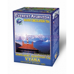 Ajurvédsky čaj VYANA – Krvný obeh a prekrvenie končatín