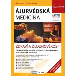 DVD Ájurvédská medicína - zdraví a dlouhověkost