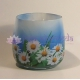 Sedmokráska - vonná ozdobná sviečka v skle