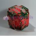Vianočný koláč - perník - vonná ozdobná sviečka v skle