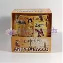 Antitabak - vonná ozdobná sviečka v skle