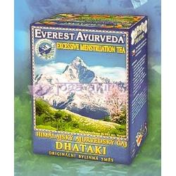 Ajurvédsky čaj DHATAKI - Silná menštruácia