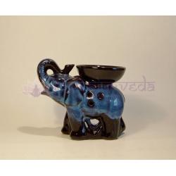 Aromalampa Slon menší, modročierny