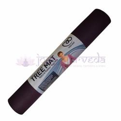 Kaučuková podložka na jogu TREE - fialová, hrúbka 4 mm
